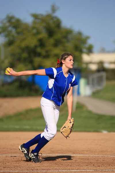 Folsom vs Elk Grove - Softball 04-08-2010