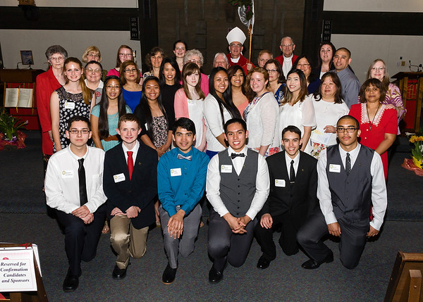 May 12, 2014 - Confirmation Group Photo