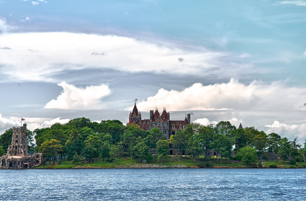 Boldt Castle in HDR