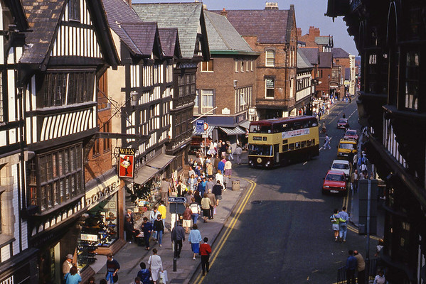 Chester City Transport Buses and Coaches 1980's and 1990's