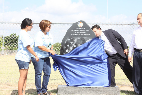 May 28, 2012 Alton Dedicates Park