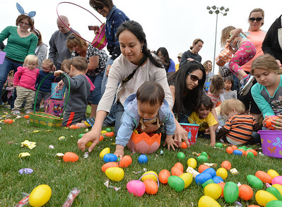 Broomfield's Eggstravaganza Easter Egg Hunt 2014