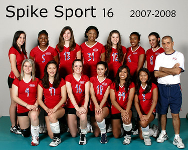 Spike Sport Volleyball
