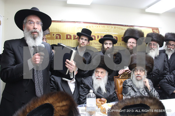 SATMAR REBBE IN FLATBUSH