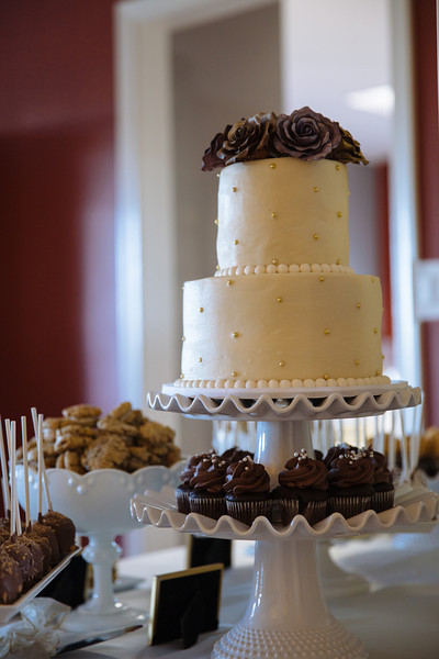 Cake, Rings, Cake Cutting & Bouquet Toss
