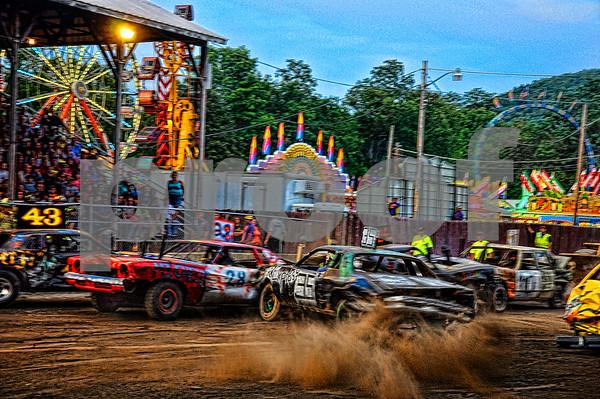 2014 Monday Nite Demolition Derby....Walton NY