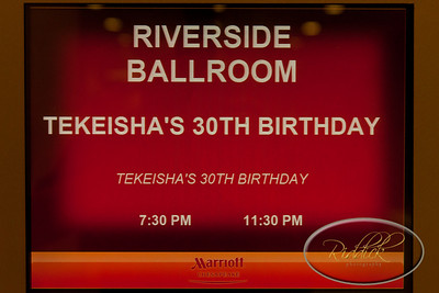 Takeisha's 30th Birthday