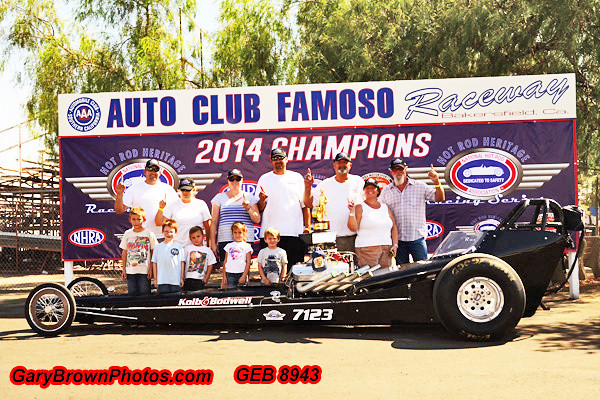 Winner Circle Photos of the Heritage Fall Championship Nationals  Group Two  Auto Club Famoso Dragway September 5-6-7, 2014