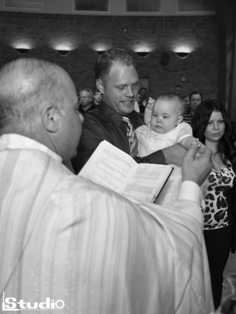 Taylor's Christening Day