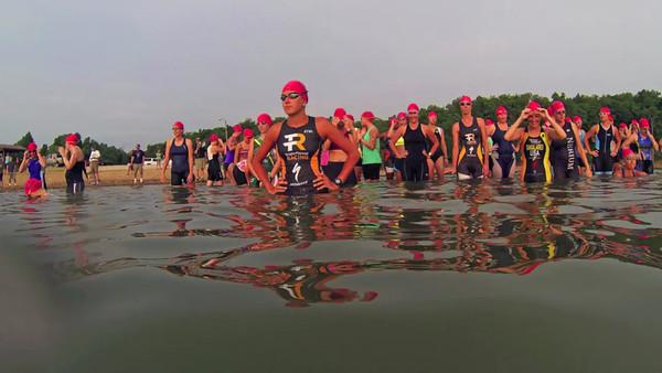 SharkSprint Triathlon 2013 Race Video