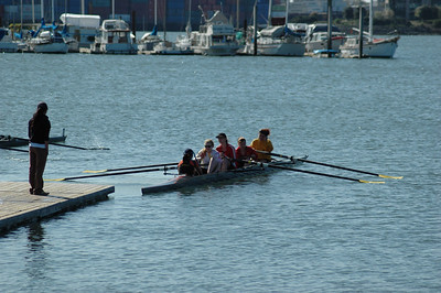 Berkeley High Crew - Oakland Strokes host at JLAC