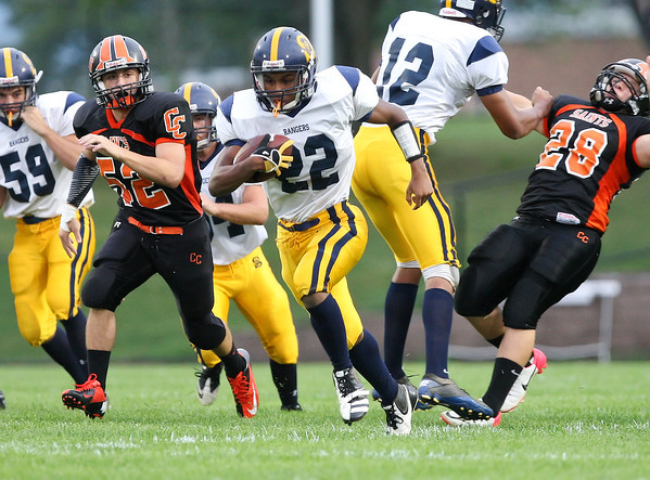 Spencerport Rangers v. Churchville-Chili-Saints 9-7-12