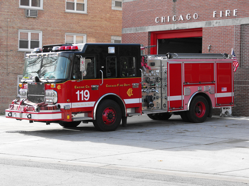 Chicago Fire Department Engine Companys Past and Present