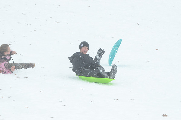 Sledding in Danville