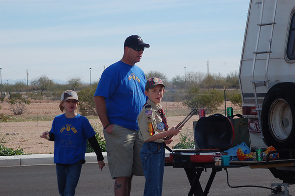 Scouting for food and rockets 2011