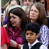 Kerrie HUGHES and family at the funeral of two little girls killed by their father, who then hanged himself, took  place today.<br /> <br /> Dozens of family and friends  turn out to say their emotional farewells to Ellie and Isobelle Cass, who died after being smothered by their father.<br /> <br /> The youngsters, aged just three and one, were found dead by police in a caravan where their father, MoT tester David Cass, was living in the grounds of a garage in Paynes Road, Freemantle.<br /> <br /> They had responded to a 999 call from the childrenÕs mother Kerrie Hughes after she received a chilling message from her former partner saying the children had Ògone to sleep foreverÓ.<br /> <br /> Their funeral, taking place at noon at Holy Cross Roman Catholic Church in Eastleigh, follows the funeral of Cass on Wednesday. A 20-minute service at Christ Church in Freemantle, attended by Miss Hughes, was followed by a burial service at Hollybrook Cemetery in Southampton.<br /> <br /> Mourners were being asked to wear bright-coloured clothes to celebrate the short lives of Ellie and Isobelle.<br /> <br /> Their coffins will be in their favourite colours Ð red with yellow lining for Ellie and pink with purple lining for Isobelle.