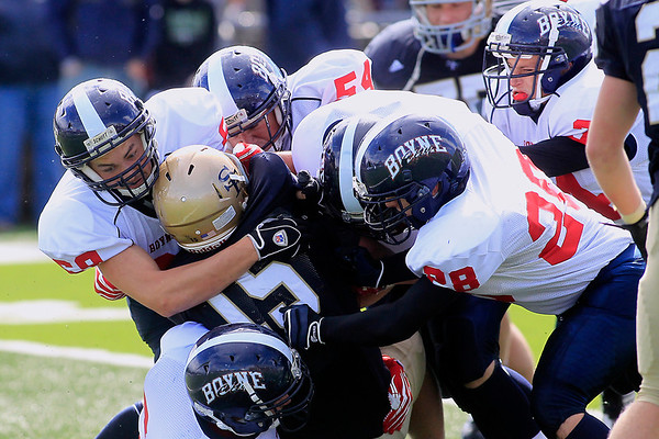Football: St. Francis vs Boyne City, Sept. 22, 2012