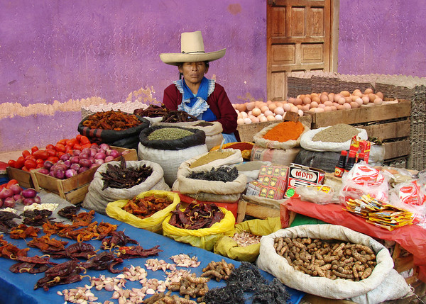 FOOD MARKETS OF THE WORLD