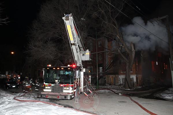2-11 Alarm Fire Albany & Van Buren March 4, 2015