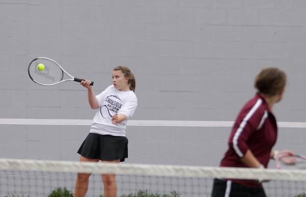 Tennis: St. Francis vs Charlevoix, May 7, 2012