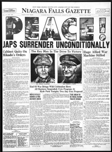 Historic Newspaper Covers