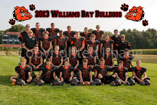 2013 Williams Bay Bulldogs Football