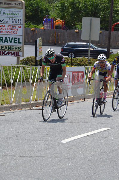 2012 Sandy Springs Crit Men 2/3