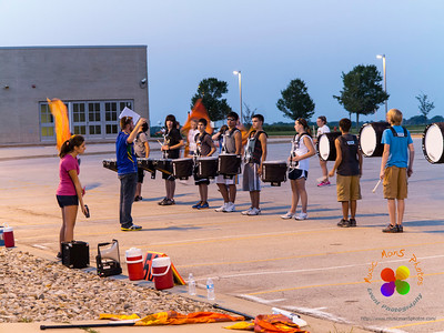 NCHS Evening Rehearsal 08/30/2012