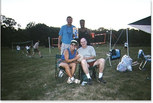 1999 Volleyball Campout
