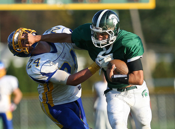 Greece Olympia Spartans v. Irondequoit Eagles 10-8-11