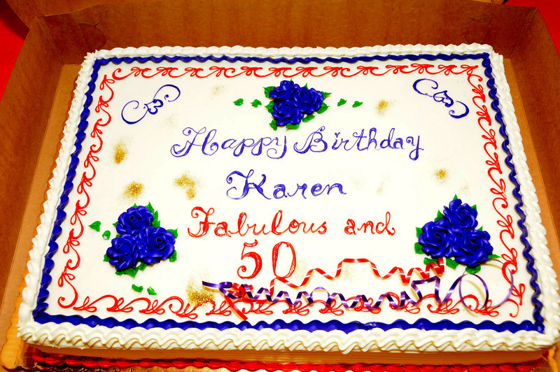 Karen's 50th Birthday Party 2013