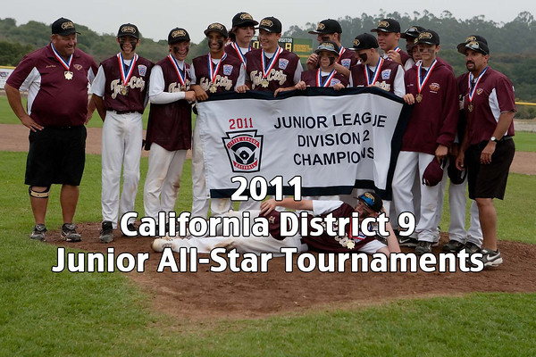 2011 California District 9 Junior All-Star Tournaments