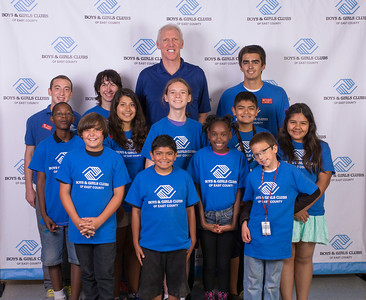 Bill Walton at La Mesa Teen Center