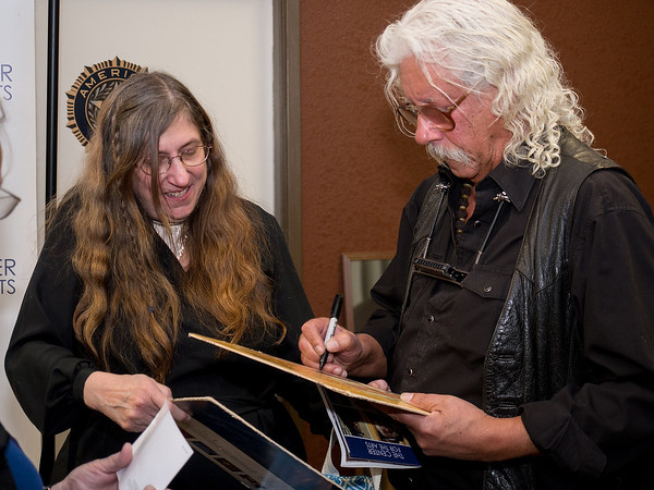 Arlo Guthrie, April 11, 2014 - meet&greet