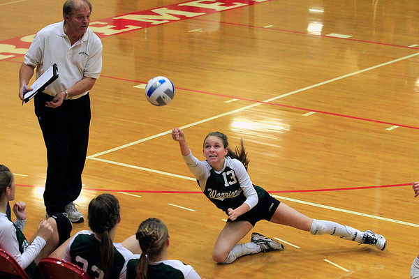 Volleyball: Leland vs Forest Area, Oct. 30, 2012