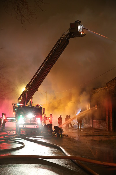 2-11 Alarm Fire Fulton and Kilbourne December 2014