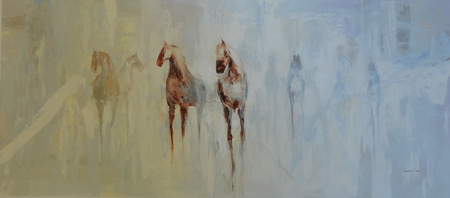 Abstract Figures-Cecil K, 30x60 on canvas JPG
