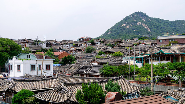 Bukchon from Gahoe-dong Catholic Church