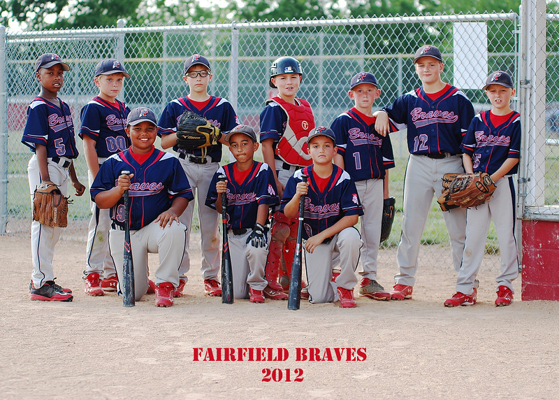 Fairfield Braves Baseball 2012