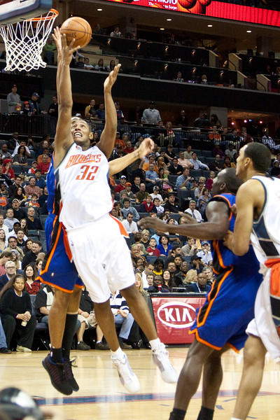 NBA-Bobcats - Knicks