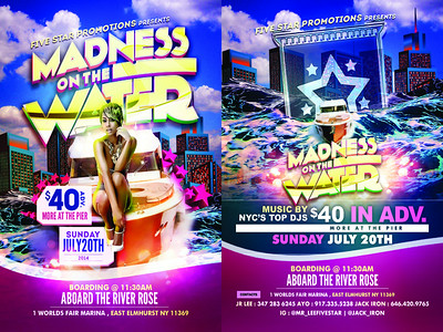 07/20/14 Madness On The Water