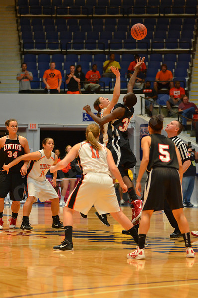 NAIA Fab Four WBB vs Union 3-19-12