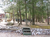 General 15 - fire pit area at Smoky Bear CG