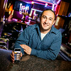 "Chris Haddad, co-founder of the mobile appication, ""MassNightly,"" an application that helps users find and enjoy the Boston nightlife,  on Friday, May 6, 2014."