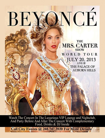 Beyonce - The Mrs Carter Show 2013 World Tour