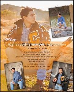 Yearbook Ad Sample 2015