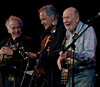 David Amram, Tom Chapin and Pete Seeger.