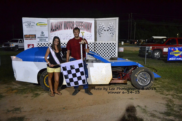 AMS Thunder Outlaw Weekend Winners 6-14-13