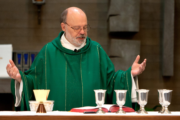 May 26, 2013 - 9:45 am Mass by Fr. Dave Gese