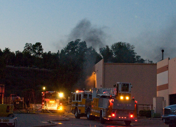 Lakeside Warehouse Fire April 7 2010